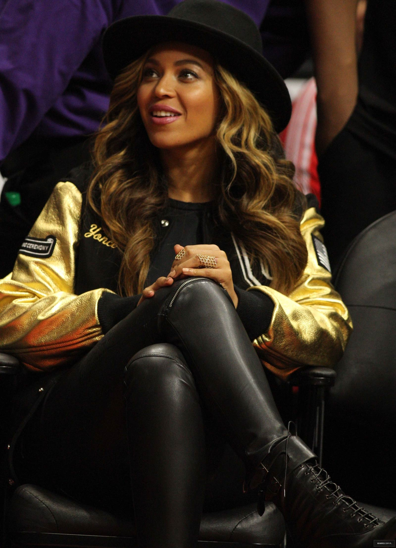 Gallery - Leather Cele... Beyonce Knowles Facebook