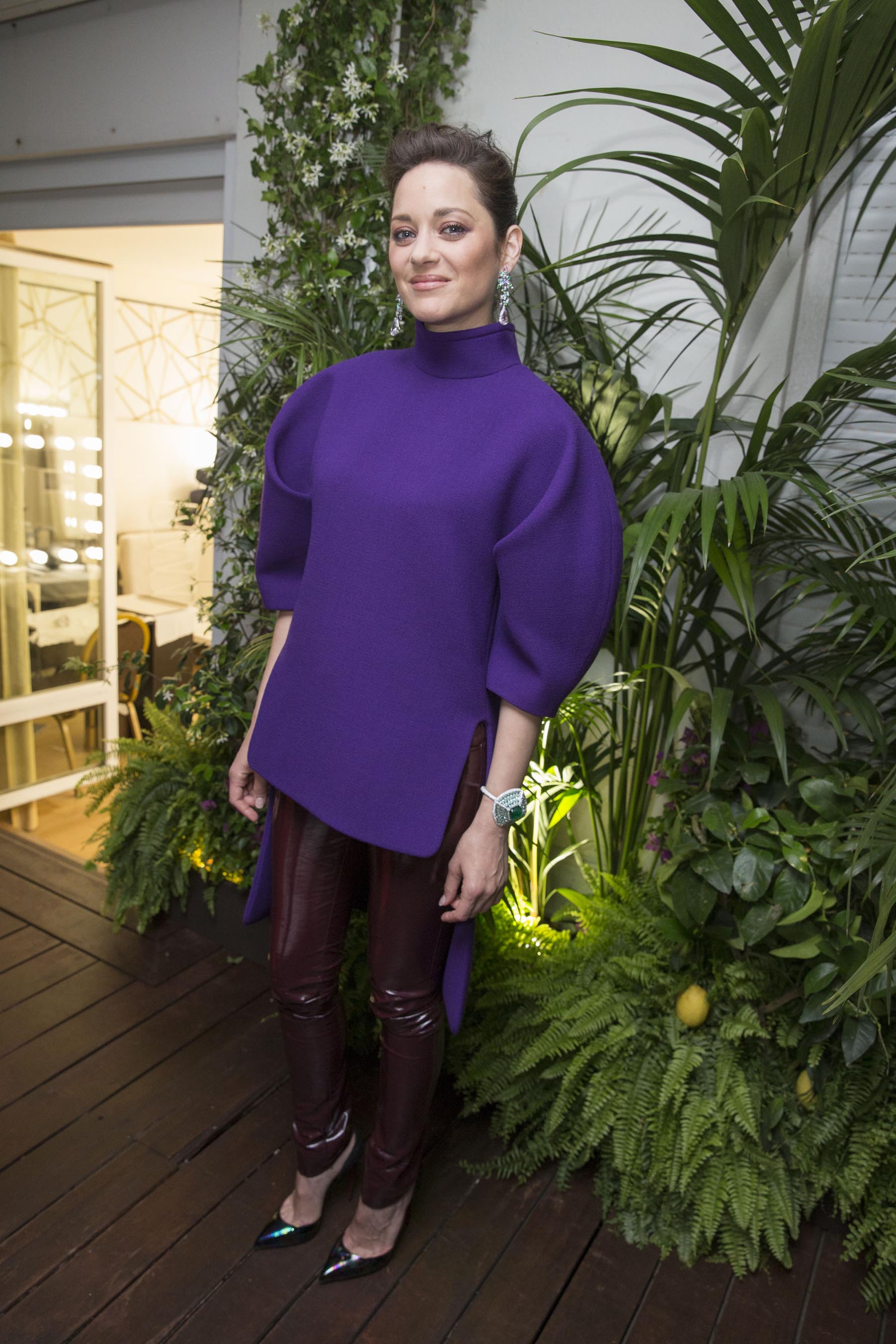 Gallery - Leather Celebrities Marion Cotillard