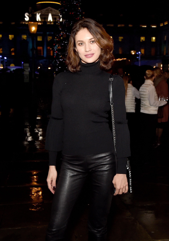 Gallery - Leather Celebrities Olga Kurylenko
