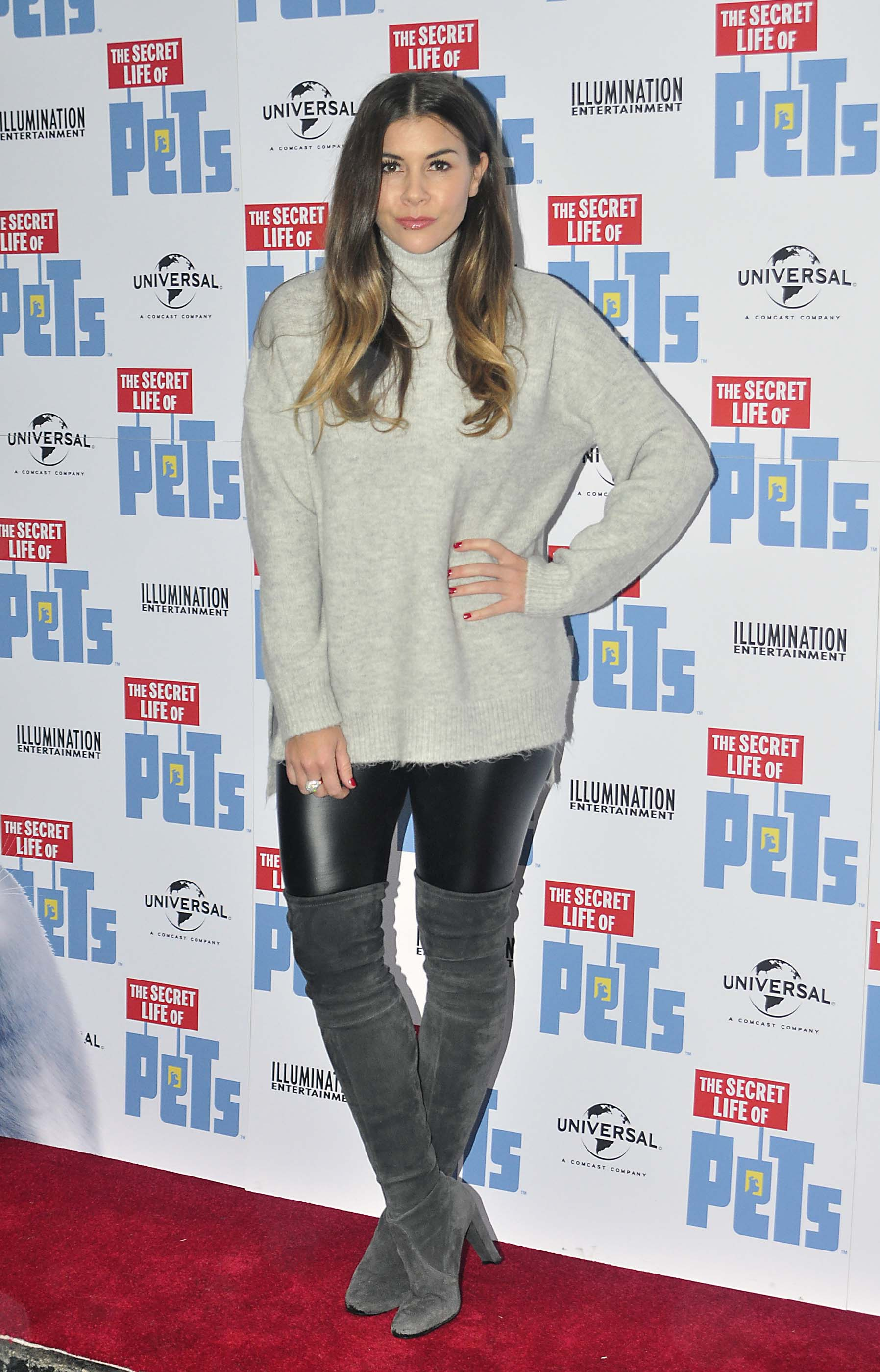 imogen thomas attends the secret life of pets uk dvd release party