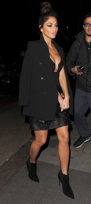 Nicole Scherzinger out and about in London Nicole Scherzinger