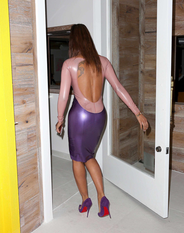 fetish heels Latex