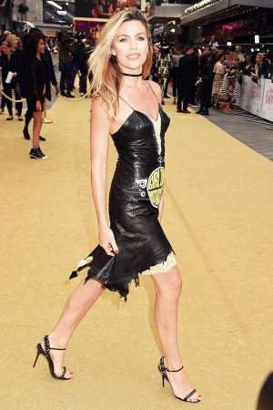 Abbey Clancy attends Absolutely Fabulous The Movie premiere