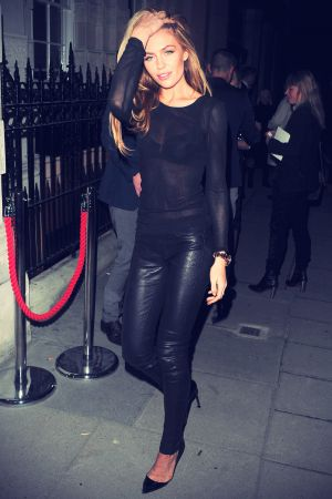Abigail Clancy at Kate Moss Throws a Book Launch Party