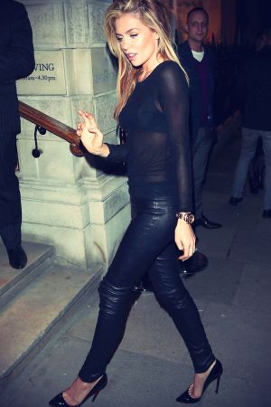 Abigail Clancy at The Children in Need charity auction