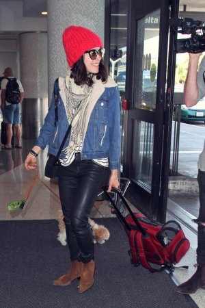 Abigail Spencer at Los Angeles airport LAX