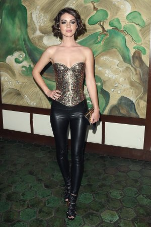 Adelaide Kane attends Wolk Morais Collection 5 Fashion Show