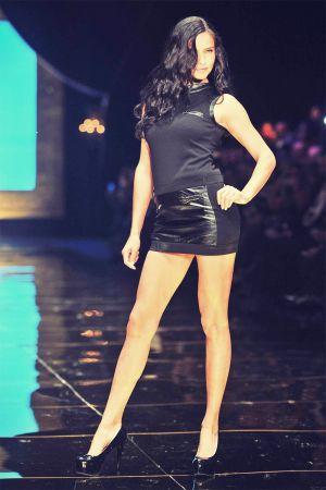 Adriana Lima Antalya Dosso Dossi Fashion Show