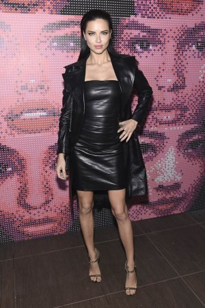 Adriana Lima attends Maybelline NYFW Welcome Party