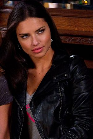 Adriana Lima & Jillian Michaels filming Super Bowl's Greatest Commercials
