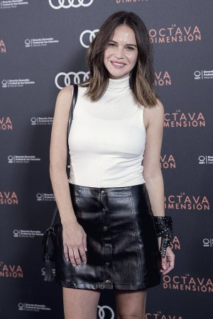 Adriana Ugarte attends The Premiere of La Octava Dimension