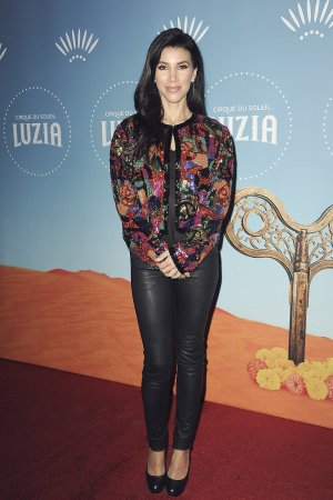 Adrianna Costa attends Premiere of Cirque du Soleil's production LUZIA