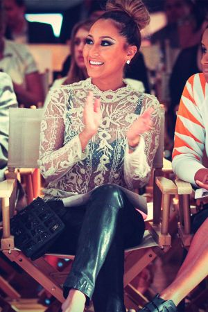 Adrienne Bailon at the Sammi Sweetheart 2013 Style 360 Fashion show