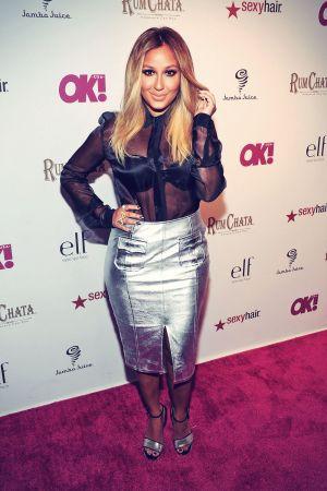 Adrienne Bailon attends OK! Magazine's So Sexy party