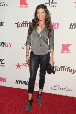 Adrienne Janic attends the OK! Magazine's Annual Pre-Oscar Event