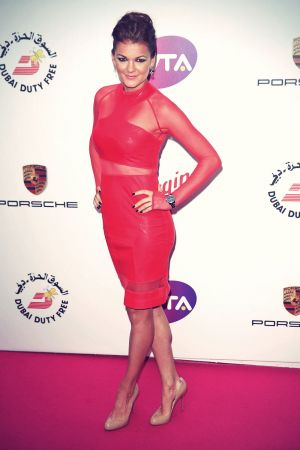 Agnieszka Radwanska attends the WTA Pre-Wimbledon party