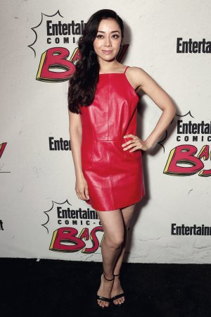Aimee Garcia attends EW Party