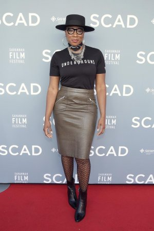 Aisha Hinds attends the 19th Annual Savannah Film Festival