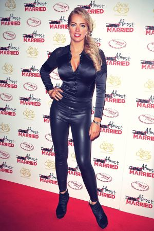 Aisleyne Horgan-Wallace attends the UK Gala screening of Almost Married
