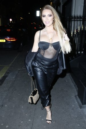 Aisleyne Horgan Wallace hits the town