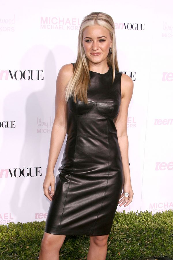 Aj Michalka At Teen Vogue Young Hollywood Party Leather