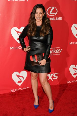 Alanis Morissette at MusiCares 2015 Person Of The Year Gala