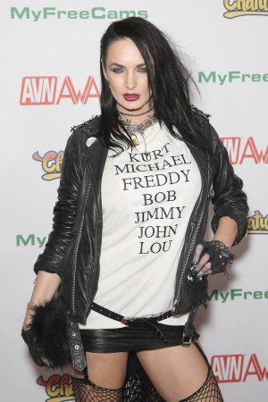 Alektra Blue attends the 2017 Adult Video News Awards