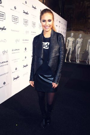 Alena Gerber attends the Platform Fashion event