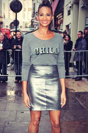 Alesha Dixon attends Britain's Got Talent auditions
