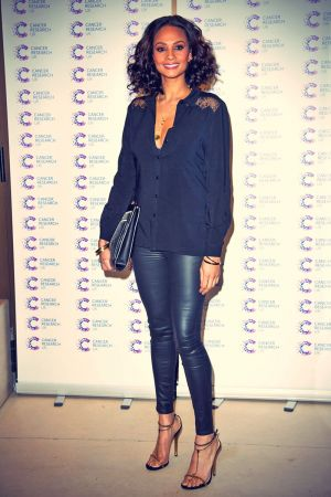 Alesha Dixon attends the James' Jog-on to Cancer event