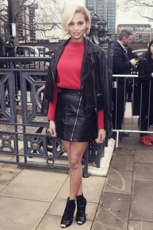 Alesha Dixon attends the Topshop Unique show