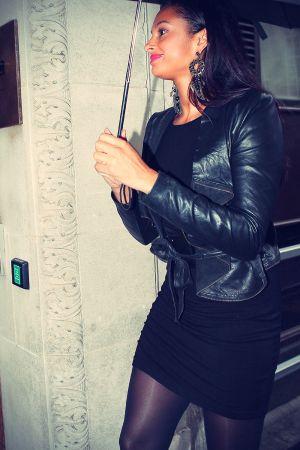 Alesha Dixon London candids