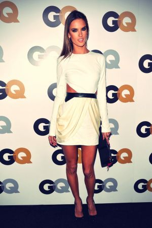 Alessandra Ambrosio at 2012 GQ Men of the Year Party