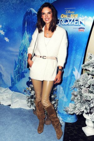Alessandra Ambrosio attends Disney On Ice 2015