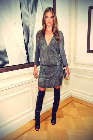 Alessandra Ambrosio attends Peter Lindbergh Artist reception
