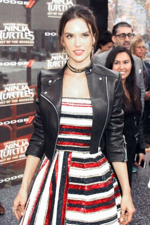Alessandra Ambrosio attends Teenage Mutant Ninja Turtles premiere