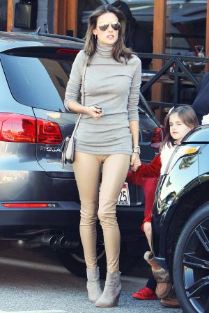 Alessandra Ambrosio out for shopping in Brentwood