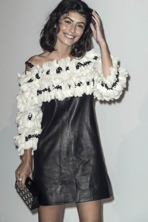 Alessandra Mastronardi attends Culture CHANEL exhibition opening
