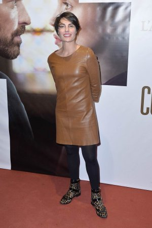 Alessandra Sublet attends the 'La Confession' Paris premiere