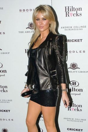 Alex Curran at Hilton Liverpool Launch Party