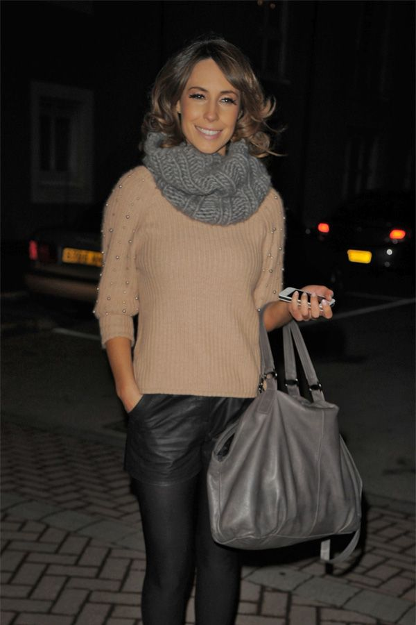 Alex Jones At Strictly Come Dancing After Party In