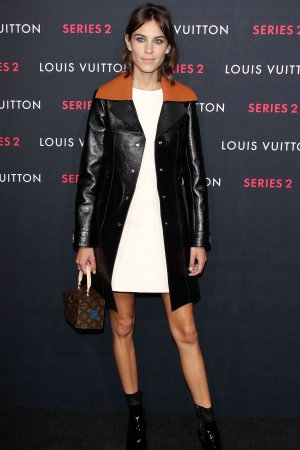 Alexa Chung attends Louis Vuitton Series 2 The Exhibition