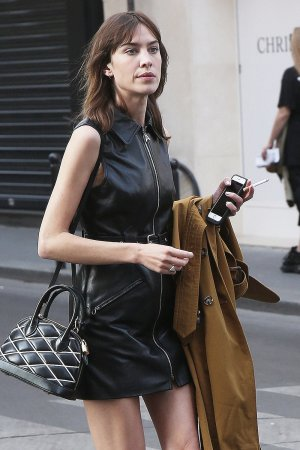 Alexa Chung seen at Colette store