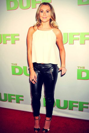 Alexa Vega attends Premiere of The Duff