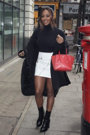Alexandra Burke at BBC Radio 2