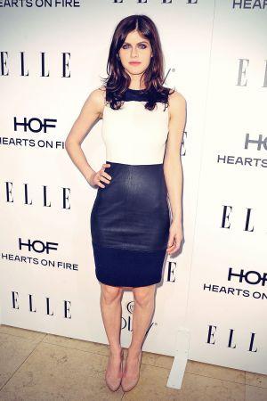 Alexandra Daddario attends ELLE's Women in Television Celebration