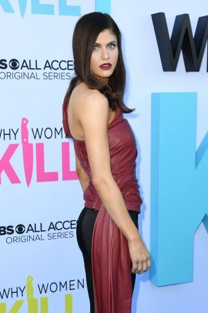 Alexandra Daddario attends Why Women Kill Premiere