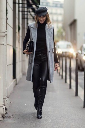 Alexandra Lapp at Paris Fashion Week #2