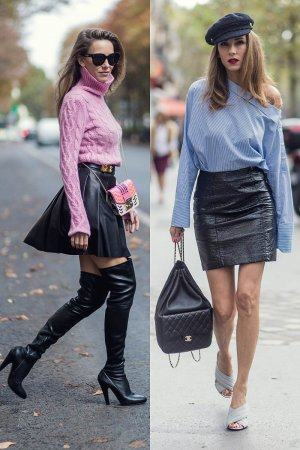 Alexandra Lapp Street Style at Paris Fashion Week Day Five