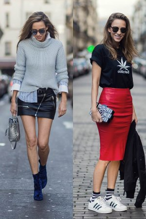 Alexandra Lapp Street Style at Paris Fashion Week Day Six
